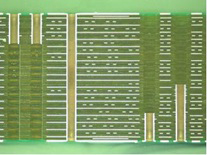 Back-drilling(photograph of section view)、Back-drilling,Printed Circuit Bords
