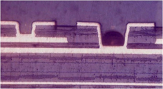 Skip-via,Laser-drilling