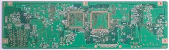 Sequential Lamination 8-layer board made by bonding two 4-layer boards